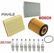 Tune Up Kit Filters With Denso Spark Plugs Fit Volkswagen Passat W8 2002-2005