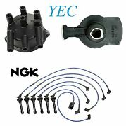 Tune Up Kit Distributor Cap Rotor And Wires Fit Acura Legend 2.7l 1987 1990