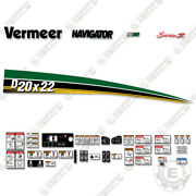 Vermeer D20x22 Decal Kit Directional Boring Machine Horizontal Drill W/ Safety
