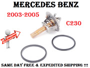 Engine Cooling Thermostat With O-ring And Seal For 2003-2005 Mercedes C230 Genuine