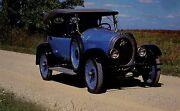 Post Card 1920 Apperson Touring Car Model 8-21 Automobile Museum Company