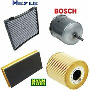 Tune Up Kit Cabin Air Oil Fuel Filters Fit Volvo S40 2001-2003