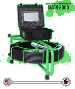 100and039 Usa Made Sewer Video Drain Inspection Camera 512hz Sonde
