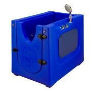 Home Pet Spa Mobile Pet Dog Washing And Grooming Bath Enclosure In/outdoor Blue
