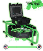 150' Secon-micro Usa Sewer Camera Pipe Drain Inspection 512hz Sonde Wifi Viewing