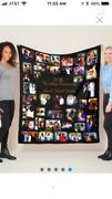 Photo Memory Blankets Gifts Christmas Gifts