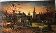 Terry Redlin Rare Office Hours Ap 17/680 New In Box