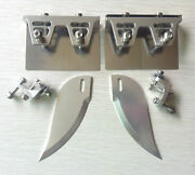1set Cnc Trim Tabs And Turn Fins Combo For 45 Or Larger Racing Boat Et284
