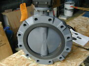New 12 Inch Hayward Bvy Butterfly Valve And Rotork 232-11 Gearbox