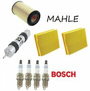 Tune Up Kit Air Fuel Oil Filters Spark Plugs Fit Bmw Z8 E52 2000-2003