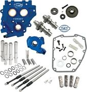 Sands Gear-drive 510 Cam Chest Upgrade Kit Cams For 2007-2017 Harley Twin Cam
