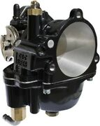 Sands Cycle Black Super E Carburetor For Harley 84-06 Big Twin And Sportster