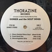 Signed Gomer And The Scut Dogs 1979 Rare Vinyl Record Album Nm W/ Personal Note