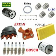 Tune Up Kit Filters Cap Rotor Plugs Oil Drain Fit Bmw 325 E30 1988