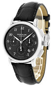 Star Legacy 42 Mm Automatic Chronograph Men's Watch 118515 New In Box