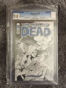 The Walking Dead 100 Comixology Exclusive Ottley Sketch Edition Cgc 9.8