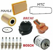 Tune Up Kit Air Oil And Fuel Filters Spark Plug Fit Bmw 633csi E24 1982-1984
