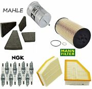 Tune Up Kit With Ngk Spark Plugs Filters Fit Volkswagen Phaeton V8 2004-2006