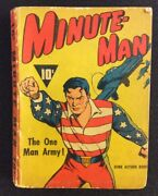 Minute-man And Mystery Of Spy Ring 1941 Fawcett Golden Age Comic Dime Action Novel