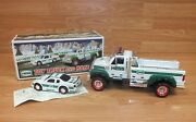 Genuine Hess 2011 Light Up Collectible Truck And Race Car Toy Only Read