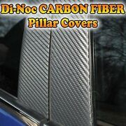 Carbon Fiber Di-noc Pillar Posts For Subaru Impreza 02-07 Sti/wrx 2pc Set Door