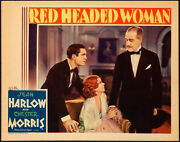 Movie Poster Red Headed Woman 1932 Lobby Card 11x14 Vf 8 Jean Harlow