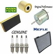 Tune Up Kit Filters Spark Plug Wire Set Fit Mercedes-benz C320 2001-2005