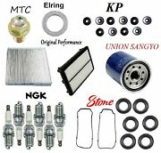 Tune Up Kit Gaskets Cabin And Air Oil Filter Seals Fit Acura Zdx 2010-2013
