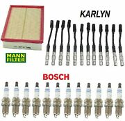 Tune Up Kit Spark Plugs And Wire Set Fit Mercedes-benz E320 2000-2003