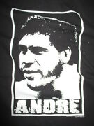 Wwe Wrestler Andre The Giant May 19 1946 Andndash January 27 1993 Xl T-shirt