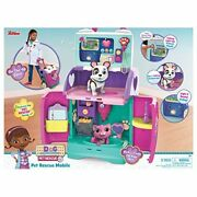 Kids Doc Mcstuffins Baby Nursery Pet Animal Rescue Play Set Toddler Toy Gift New