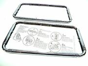 2 - Lincoln Classic Car 1920and039s 1930and039s Chrome License Plate Frame - Adjustable