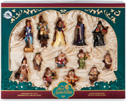 Disney Art Of Snow White 80 Anniversary Limited Edition Sketchbook Ornament Set