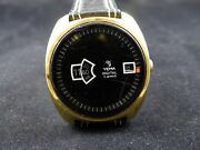 Rear Hand Winding Digital Yema 17 Jewels Watch Hard To Find For Collectors