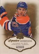2015-16 Ud The Cup Connor Mcdavid Signature Renditions Nice Rookie Card