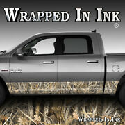 Truck Side Rocker Panel Graphic Decal Wrap Camouflage Vinyl Tall Grass Camo