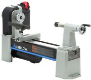 Delta Wood Lathe 1 Hp 1725 Rpm 12-1/2 In. Midi-lathe Electronic Variable Speed