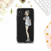 Hipster Iphone Xs Xr X 6s 7 8 Silicone Case Girl Clear Skin Cute Iphone 11 12 Se