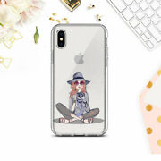 Iphone Xs Xr 6s 7 8 Cute Clear Case Hipster Girl Silicone Cover Iphone 11 12 Se