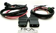 Western Fisher Snow Plow Battery Cable Truck And Plow Side Harness 42014 42015