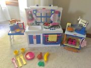 Fisher Price My Sweet Kitchen 3 Complete Sets Fits American Girl Mint