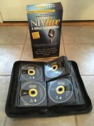 Niv Audio Bible Dramatized Complete Holy Bible 79 Audio Cd's +dvd Retail 125