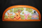 Rare Framed Disney Le Collector Plates 'favorite Way To Be' Bradford Exchange