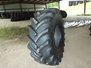 Two 23.1-26 R1 18 Ply Tractor Tires