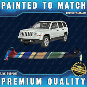 New Painted To Match - Front Upper Bumper Replacement For 2011-2017 Jeep Patriot