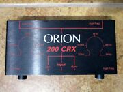 Orion 200 Crx Crossover 2 Way Active 200crx Gx Gs Sx Hcca Xtr 2nd