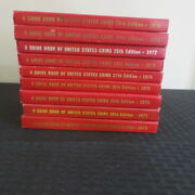 Yeoman Red Book Lot9 A Guide Us Coins Price Guide 1970-1977.1979