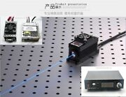 500mw 457nm Blue Laser Dot Module + Ttl/analog + Tec + Power Supply 85-265v