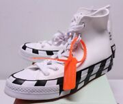 Converse X Off White Chuck Taylor All Stars Sneakers Boys Size Menand039s 4-7 163862c