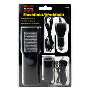 15 Led Flashlight/worklight-rechargeable Belt Clip. Lot Of 100 For 12.00 Each.